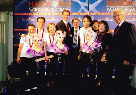 HAIRWORLD WORLDCUP 2012 MILANO